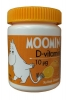 MOOMIN D-vitamin 10 мг, с ароматом апельсина, 100 шт