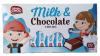 Mister Choc Шоколад молочный с молочным наполнителем, 100 гр