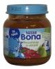 Nestle Bona  шиповник и груша, 125гр., с 4 мес.