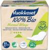 Vuokkoset Bio Прокладки тонкие с крылышками (4 кап.), 12 шт