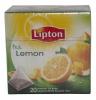Lipton Чай чёрный (лимон), 20 пир.